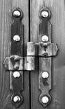 Door hinge. Stock Photos