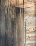 Door & Hinge Stock Image