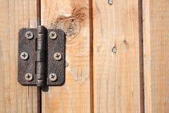 Door hinge Royalty Free Stock Photo