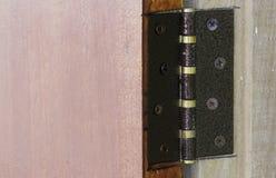 Door hinges Royalty Free Stock Image