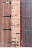 Door hinges Stock Photography