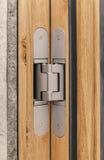 Door hinges Stock Photo
