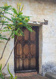 Door at Historic Carmel Mission Stock Images