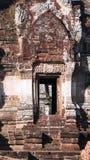 Door historic old town. Thailand Stock Photo