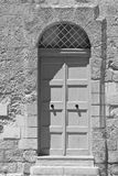 Door in historical part of Mdina Stock Photography