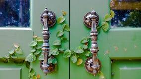 Door Holders With Nature Stock Photo