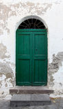 Door on the house in Sicily Royalty Free Stock Photography