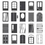 Door  icon Set Stock Image