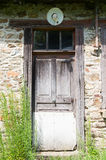 Door Inhabitable house Royalty Free Stock Photos
