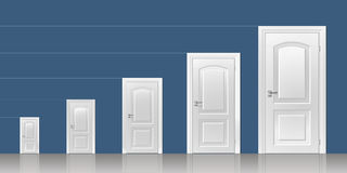 Door in the interior Royalty Free Stock Images