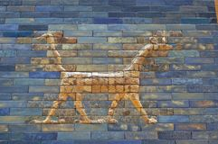 Door of Ishtar Royalty Free Stock Photography