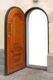 Door isolated object. Royalty Free Stock Photography