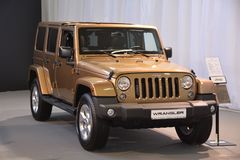 5-door Jeep Wrangler stockfotografie