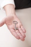 Door key Royalty Free Stock Image