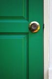 Door and Key Stock Image
