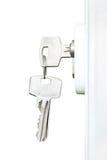 Door keys Stock Photos