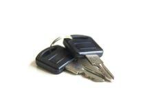 Door keys isolated Stock Photography