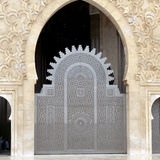 Door King Hassan II Mosque, Casablanca Stock Photos