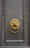 Door knob stock image