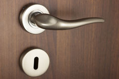 Door knob. Closeup image of door knob stock image