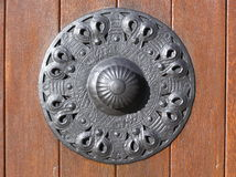 Door knob. Photo of door knob Stock Photo
