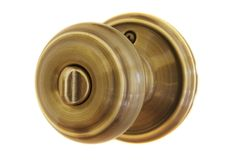 Door Knob. Unlocked Stock Image
