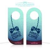 Door knob hangers Stock Photography