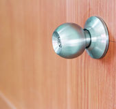 Door knob locks. Door knob locks as illustrated in Royalty Free Stock Photography