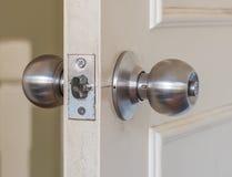 Door knob. Door  knob for  new room Royalty Free Stock Photo
