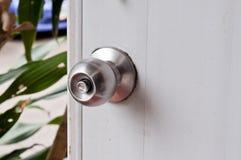 Door knob. Door knob on old door Stock Photo
