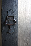 Door and knob Stock Photos