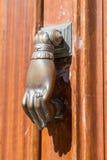 Door Knob. View of an old door knob Stock Images