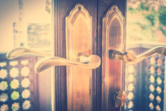 Door knob Royalty Free Stock Photography