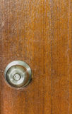 Door knobs on a door Stock Photos