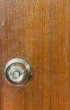 Door knobs on a door Stock Photos
