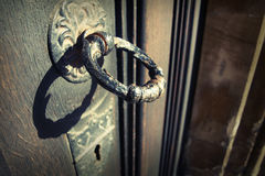Door knock Stock Photography