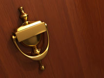 Door knocker Stock Photos