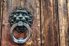 Door knocker close up Royalty Free Stock Images