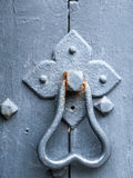 Door knocker. Close up of a Victorian door knocker or handle Stock Images