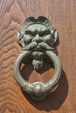 Door knocker closeup Stock Images