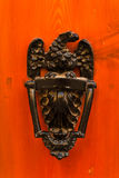 Door knocker. Exquisite door knocker of old Maltese house in Mdina Stock Photography