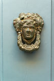 Door knocker. Exquisite door knocker of old Maltese house in Mdina Royalty Free Stock Photography