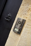 Door knocker and intercom Royalty Free Stock Photos