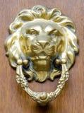 Door Knocker. A lion head door knocker Stock Image
