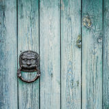 Door Knocker Lion Head Stock Photography