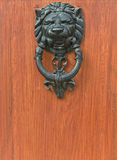 Door Knocker Lion Head detail Stock Photography