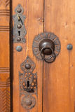 Door knocker and Lock Royalty Free Stock Photography