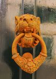 Door Knocker in Mahon on Minorca Royalty Free Stock Photo