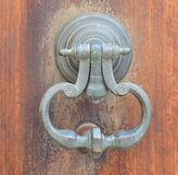 Door knocker Royalty Free Stock Images