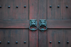 Door knocker Royalty Free Stock Photo